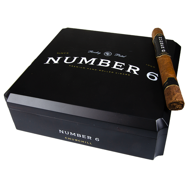 Rocky Patel Number 6 Churchill Shaggy