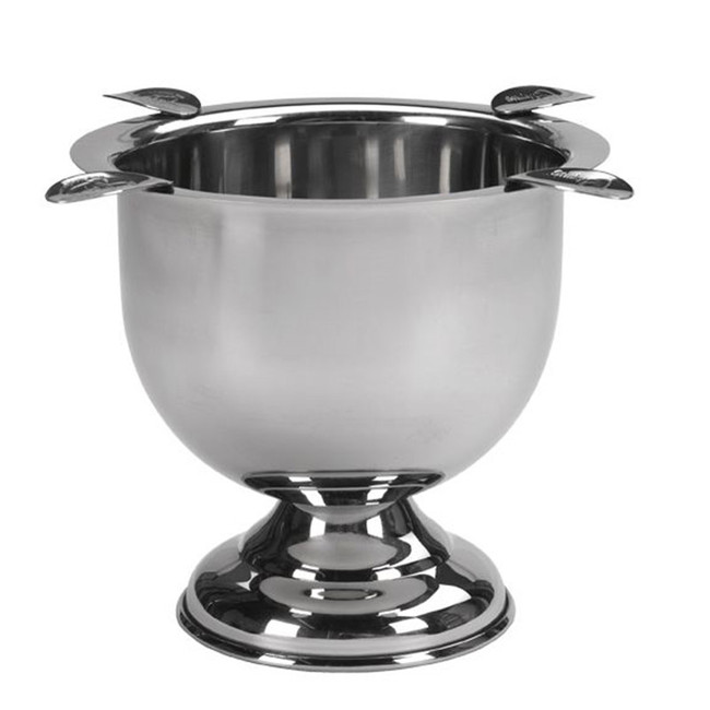 Stinky Ashtray Tall Stainless Steel