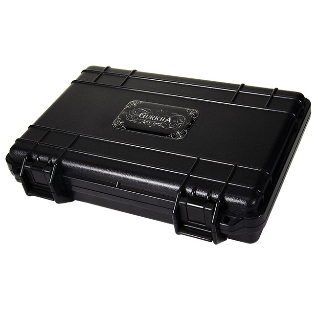 Gurkha Travel ABS Cigar Humidor 5-CT