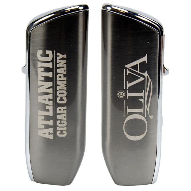 Oliva & Atlantic Triple Jet Flame Lighter