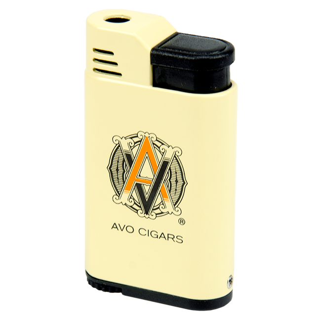 AVO Cream Windproof Single Torch Lighter
