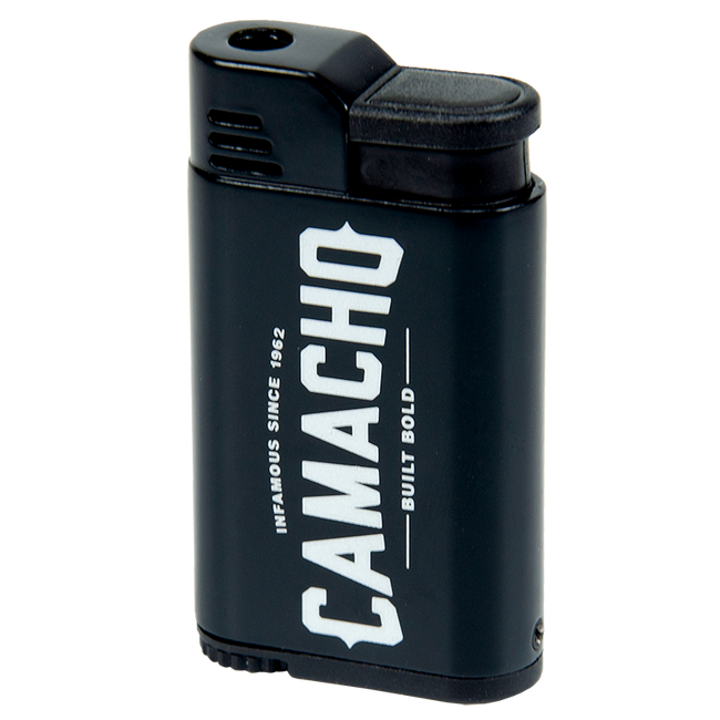 Camacho Scorpion Black Windproof Single Torch Lighter