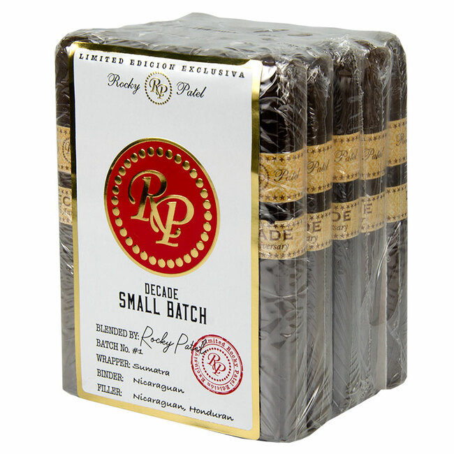 Rocky Patel Small Batch Decade Robusto