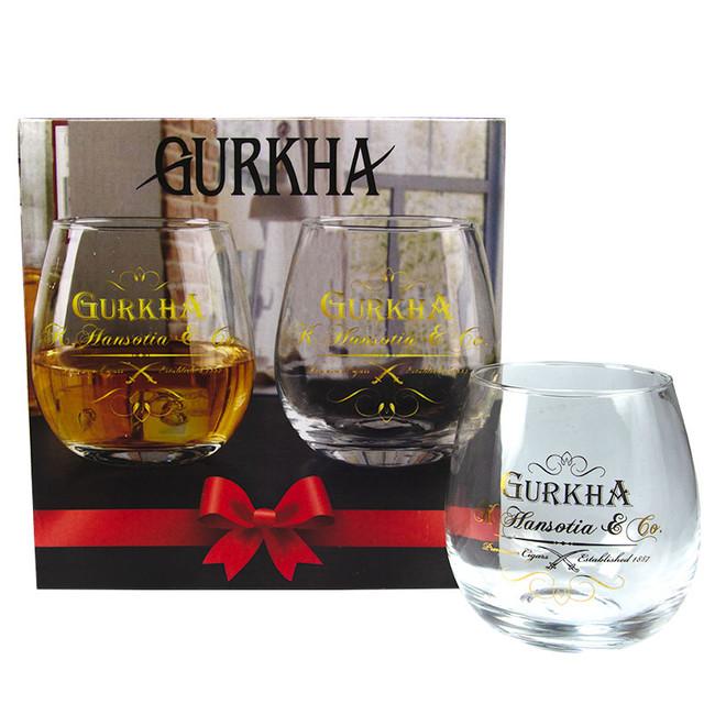Gurkha Limited Edition Rock Glasses 4-CT