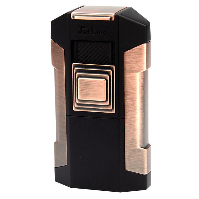 JetLine Avalanche Quad Torch Table Lighter Copper
