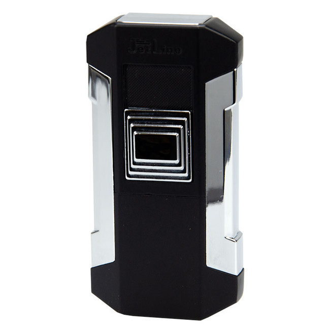 JetLine Luxe Double Torch Lighter Chrome