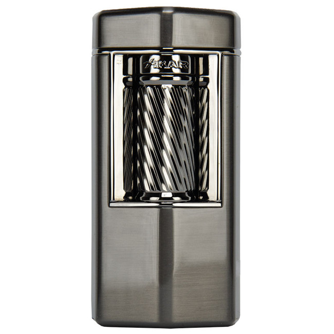 Xikar Meridian Triple Soft Flame Flint Lighter Gunmetal