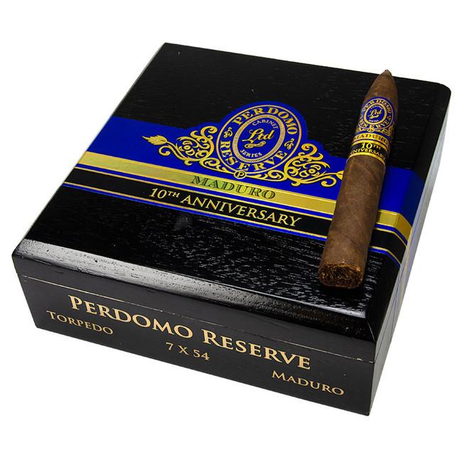 Perdomo 10th Anniversary Maduro Torpedo (BP)