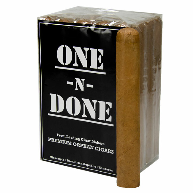 One-N-Done Nicaraguan Batch Connecticut Robusto (5x50)