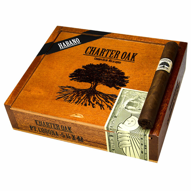 Charter Oak Habano Petite Corona (5-1/4x42)