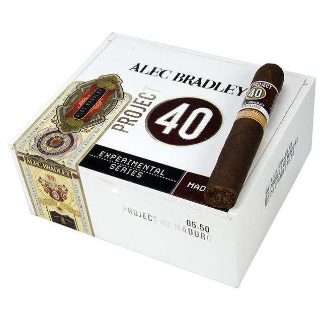 Alec Bradley Project 40 Maduro Robusto (5x50)