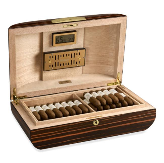 Gurkha Signature 75-Cigar Desktop Humidor - Lugano Series