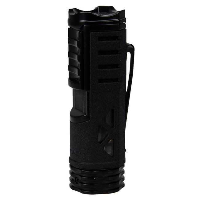 Xikar Tactical 1 Black & Black Single Torch Lighter