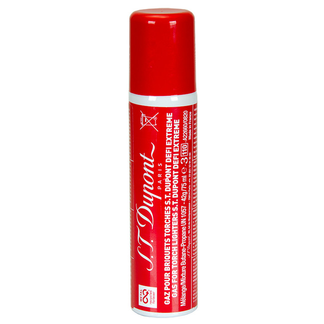 S.T. Dupont Defi Extreme Butane Gas 75ML Red