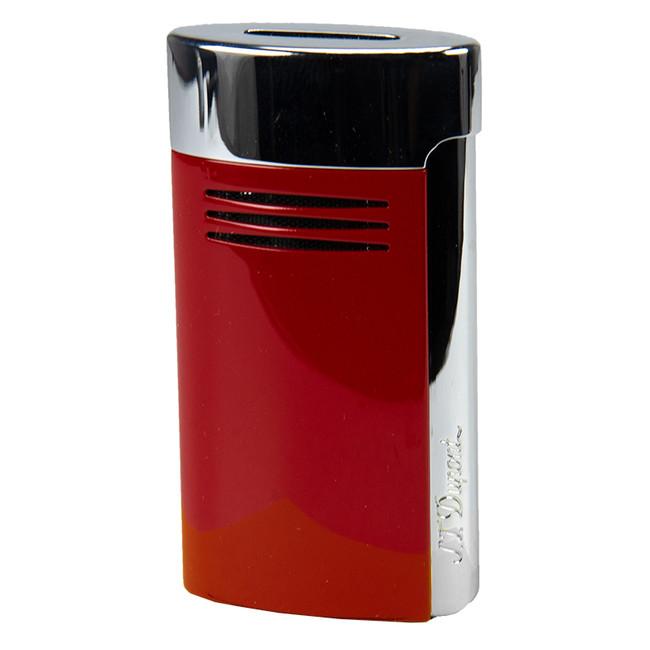 S.T. Dupont Mega-Jet Torch Lighter Red & Chrome