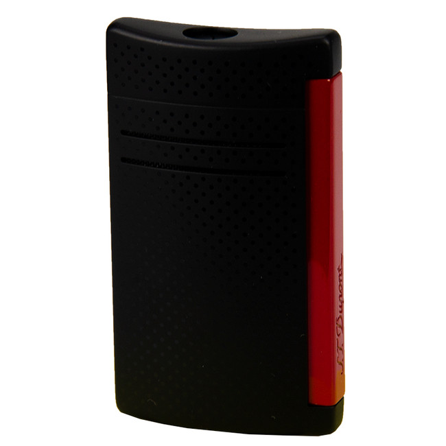 S.T. Dupont Maxi-Jet Torch Lighter Matte Black & Red
