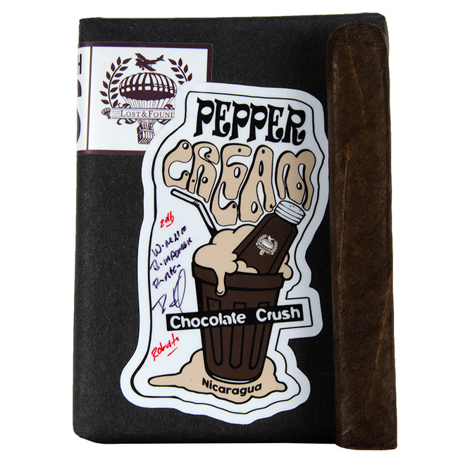 Caldwell Lost & Found Pepper Cream Chocolate Crush Robusto