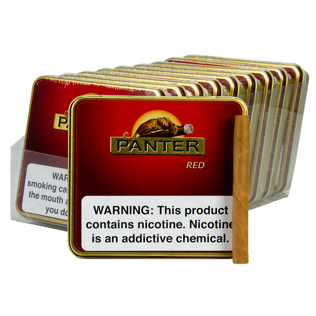 Panter Red Tins