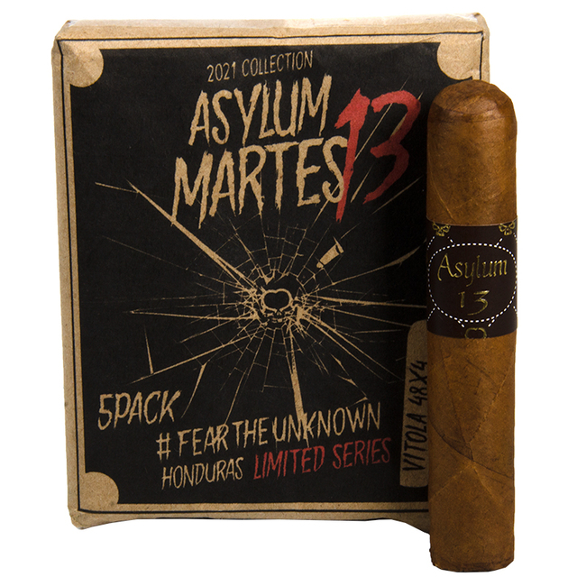 Asylum Limited Series Martes 13 (48x4)