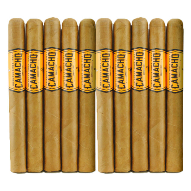 Camacho Connecticut Churchill 10-Pack
