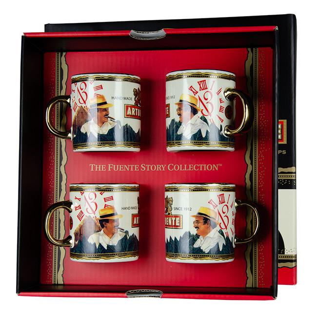 Arturo Fuente Hands of Time Espresso Cups