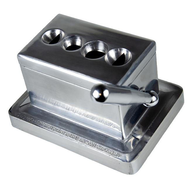 Quad Table Cigar Cutter (Stainless)