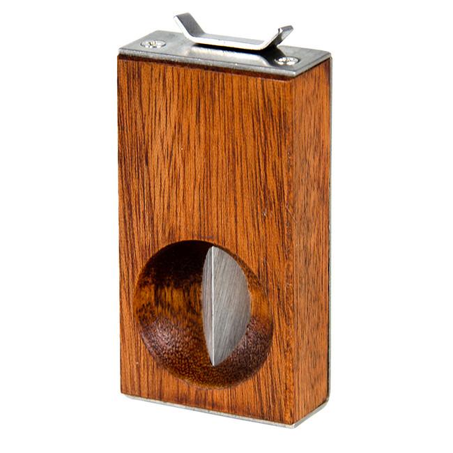 Hardwood V Cigar Cutter 54 Ring
