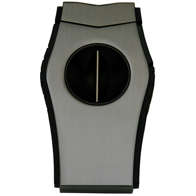 Lotus Viper 64-RG V-Cut Cigar Cutter - Gunmetal/Black