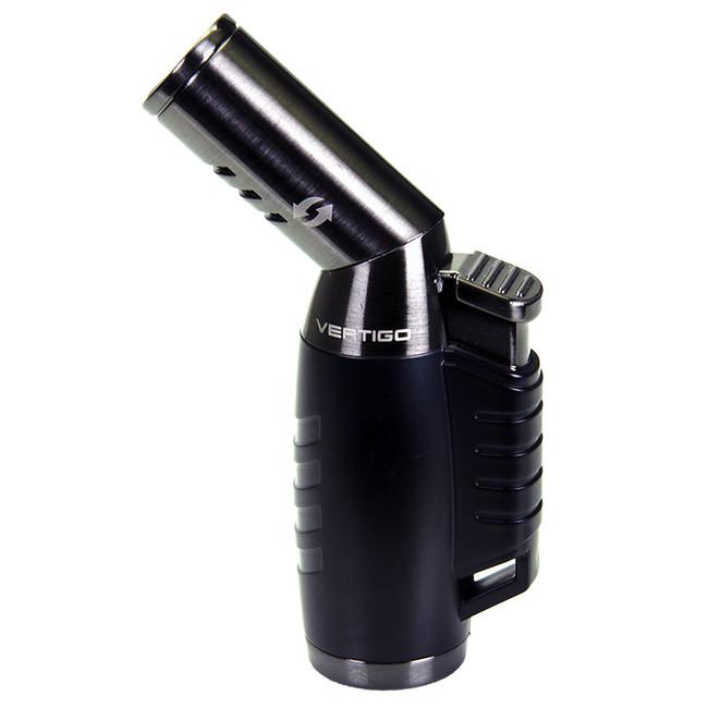 Vertigo by Lotus Optimus Triple Torch Lighter Black/Gunmetal