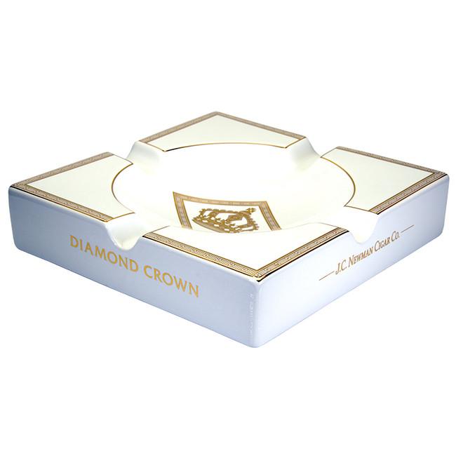 Diamond Crown Royal Collection Ashtray - White