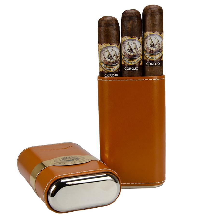Craftsman's Bench Robusto Tan (54) Cigar Case