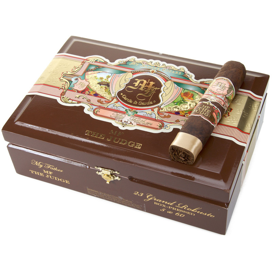 My Father The Judge Grand Robusto Box-Pressed