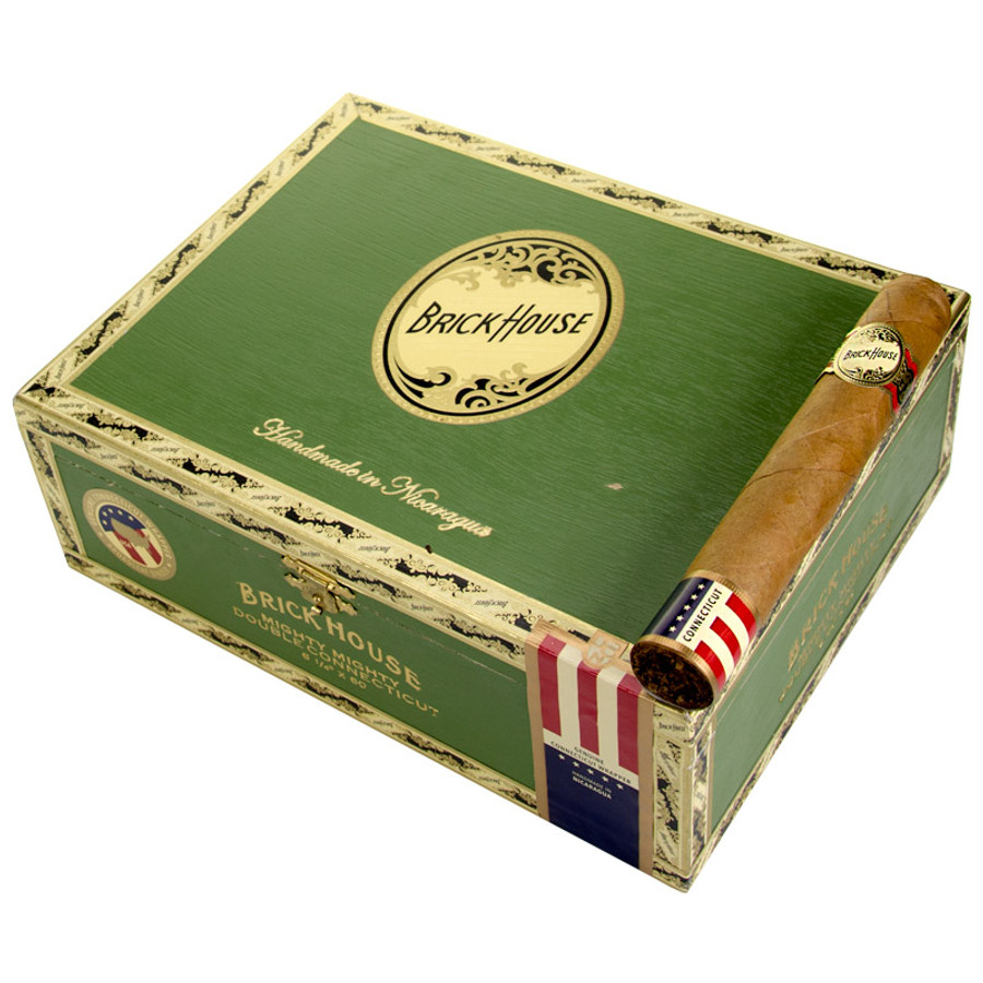 BRICKHOUSE MIGHTY MIGHTY DOUBLE CONNECTICUT WOOD CIGAR BOX