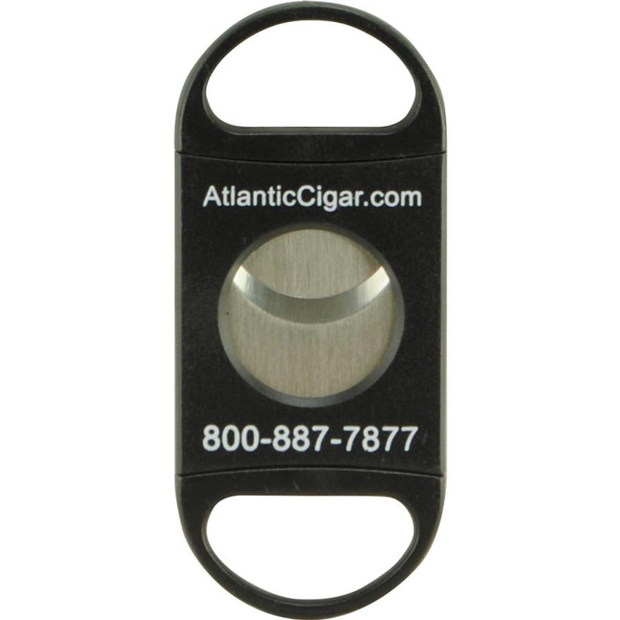 Atlantic Cigar Plastic Logo Dbl Blade Cutter