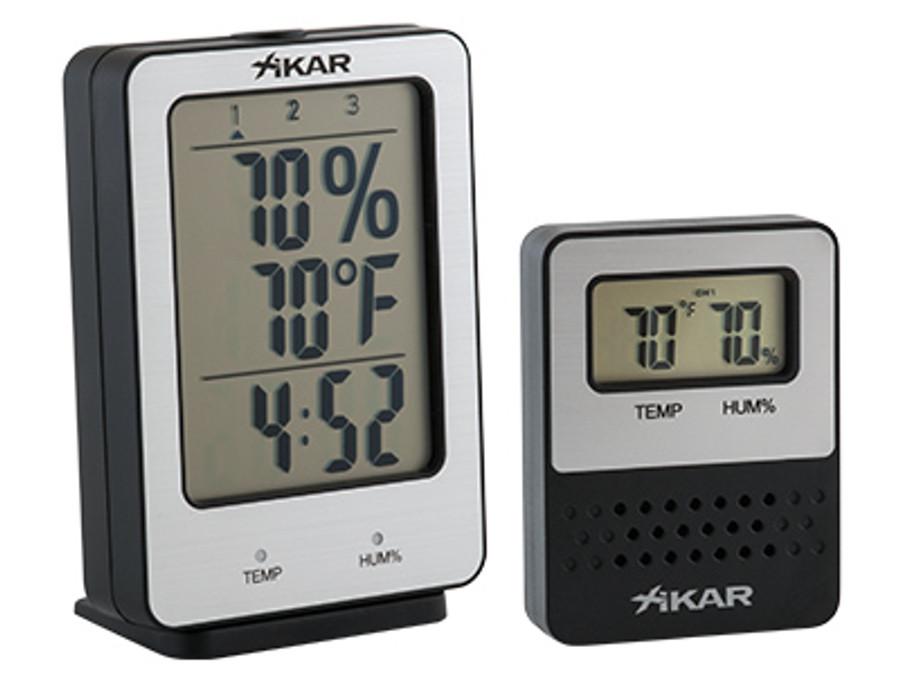 Xikar PuroTemp Wireless Digital Hygrometer System