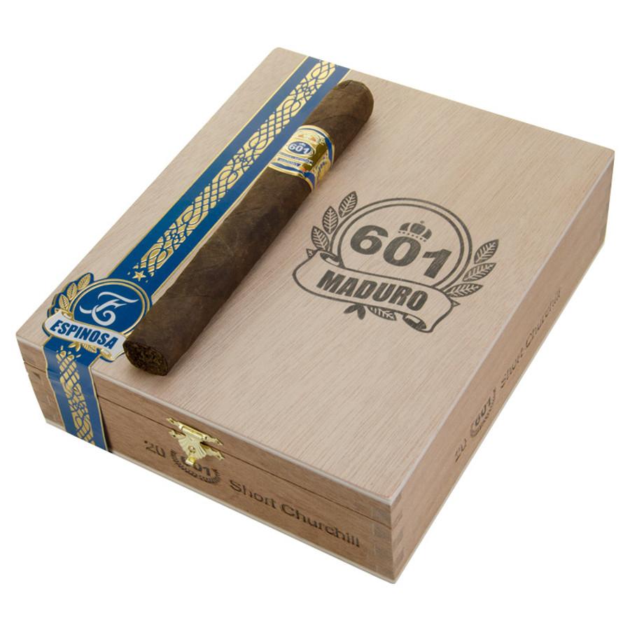 601 Blue Label Short Churchill Maduro