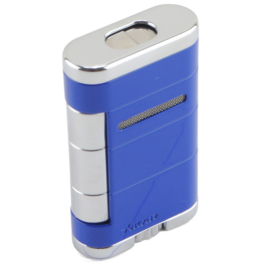 Xikar Allume Double Torch Lighter Reef Blue