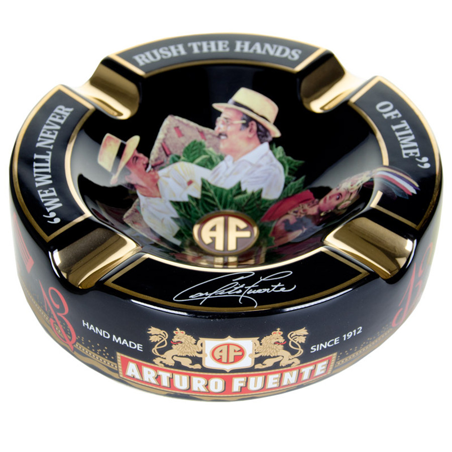 Arturo Fuente Hands of Time Ashtray Black