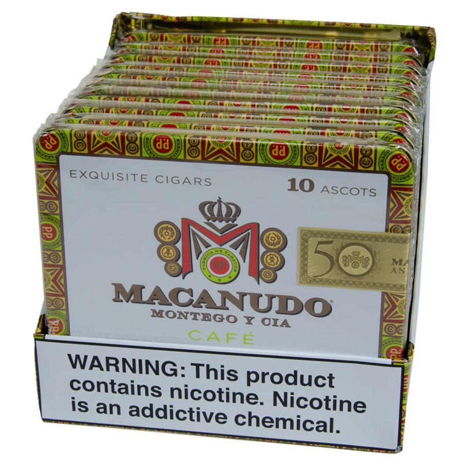 Macanudo Cafe Ascots Tins