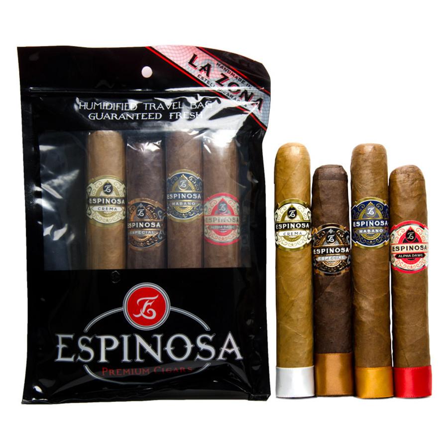 Espinosa Humi-Bag Robusto 4-Pack Sampler