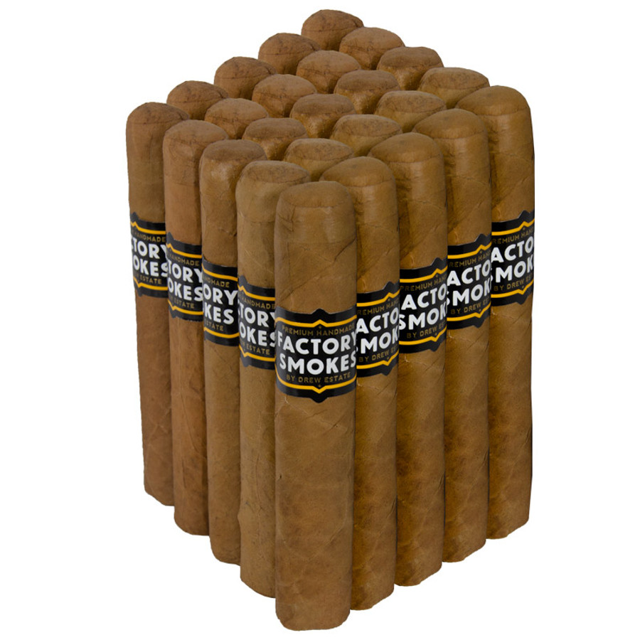Drew Estate Factory Smokes Connecticut Shade Robusto