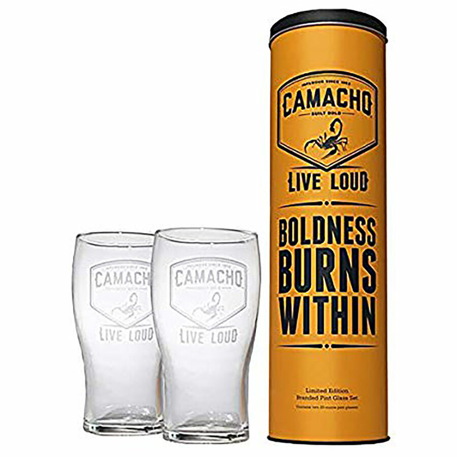 Camacho Limited Edition Pint Glass Set