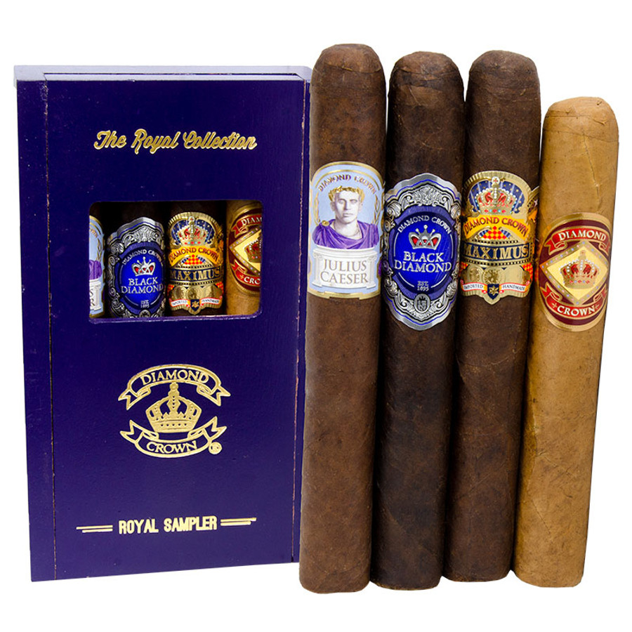 Diamond Crown The Royal Collection 4-Pack Sampler