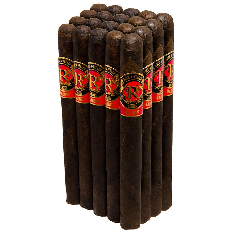 Rock-A-Feller Maduro Red Churchill (7x48) 20-Pack