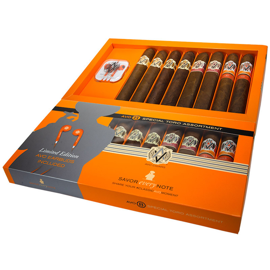 AVO 8 Special Toro Assortment Cigar Sampler 8-CT