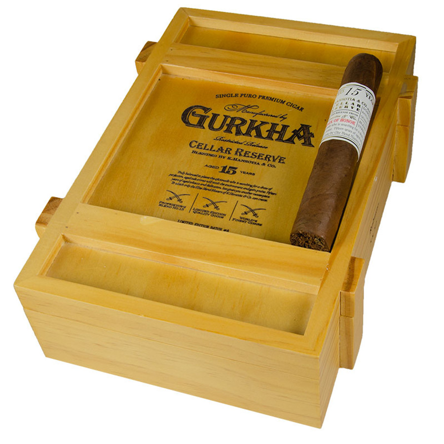 Gurkha Cellar Reserve 15 Year Robusto