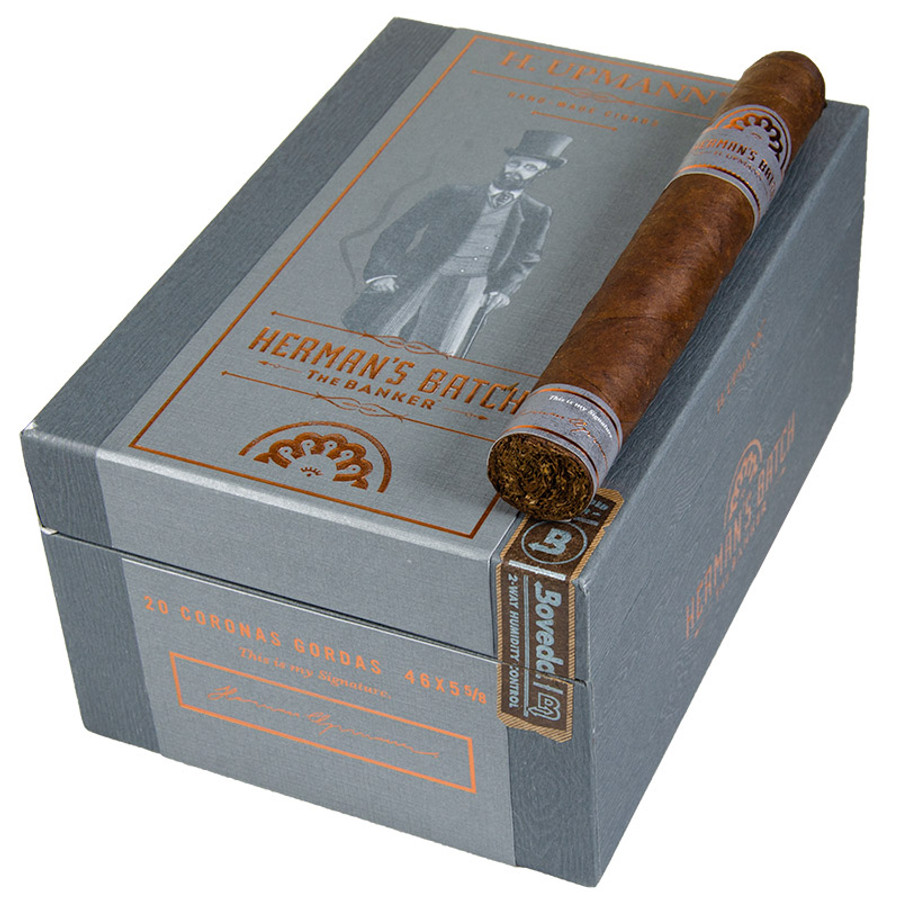 H. Upmann Herman's Batch The Banker Corona Gorda