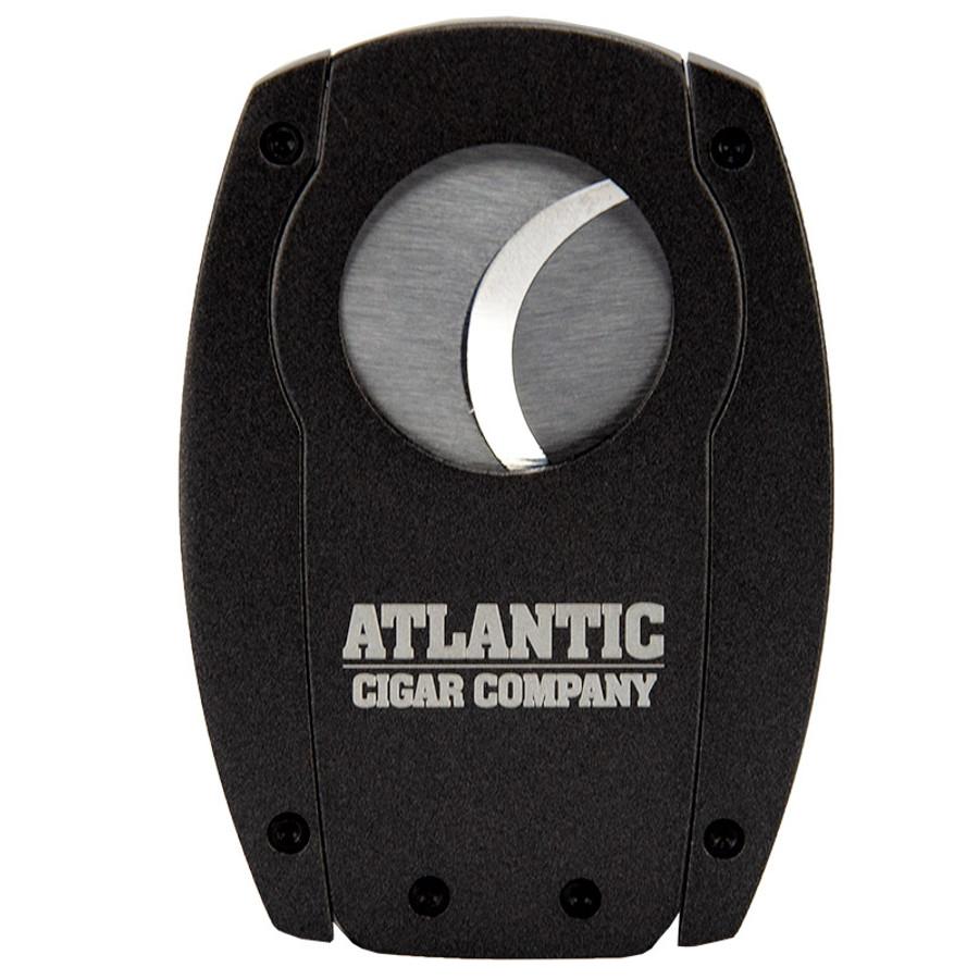 Oliva & Atlantic Double Blade Metal Cigar Cutter Grey