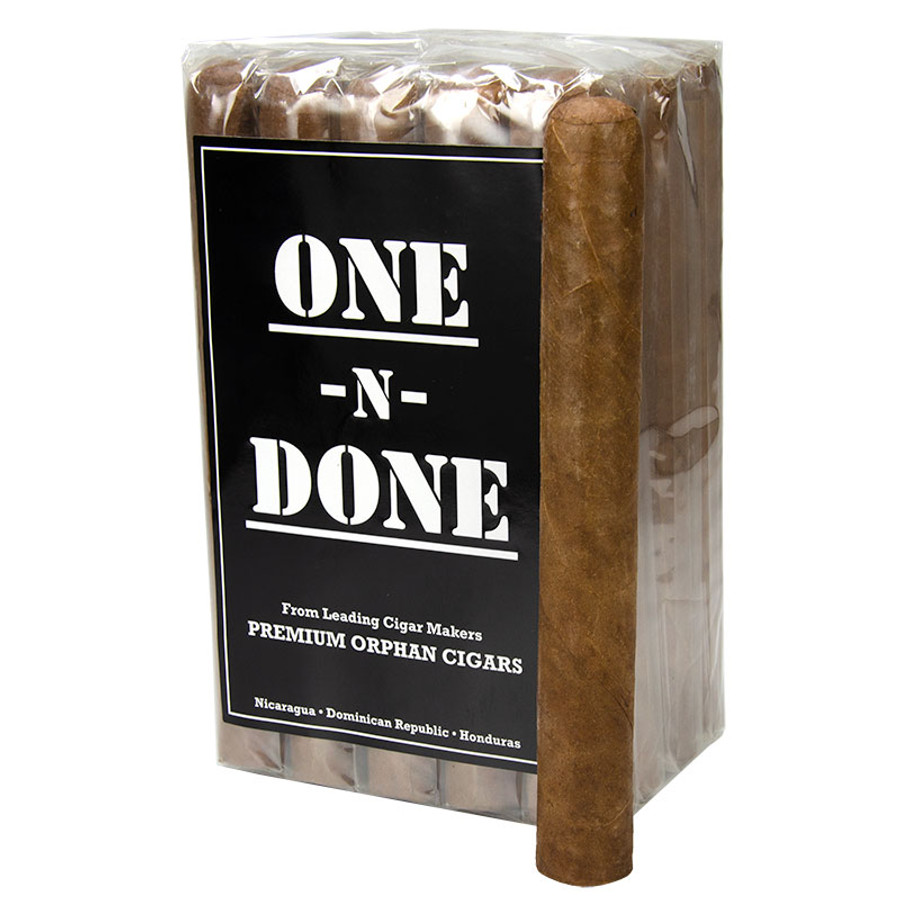 One-N-Done Nicaraguan Batch Habano Toro (6x50)