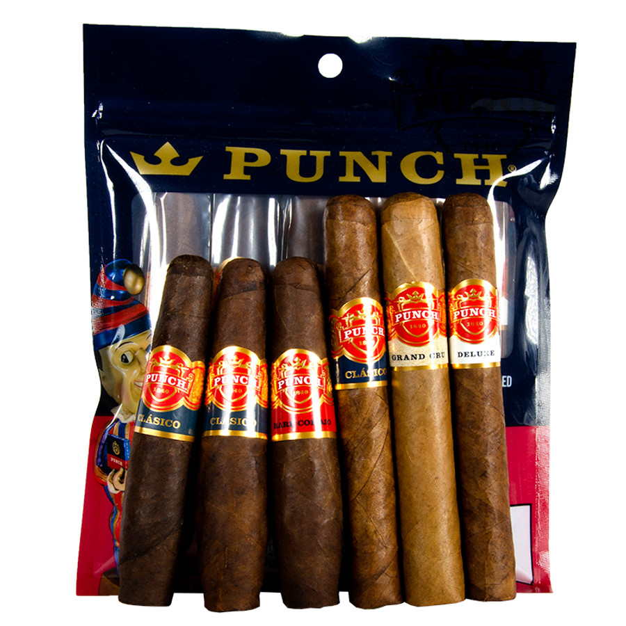 Punch Pack of Punch 6-Pack Sampler Pouch